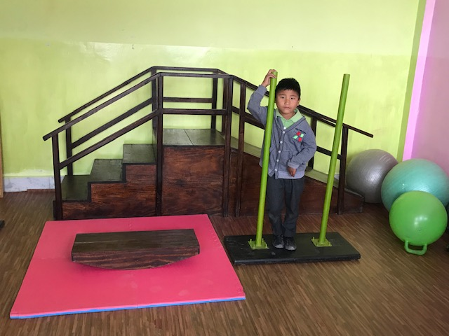 #377 Nagaland, India: Physical Therapy Equipment for Disabled Students