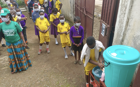 #412 Cameroon: Hand Washing Stations